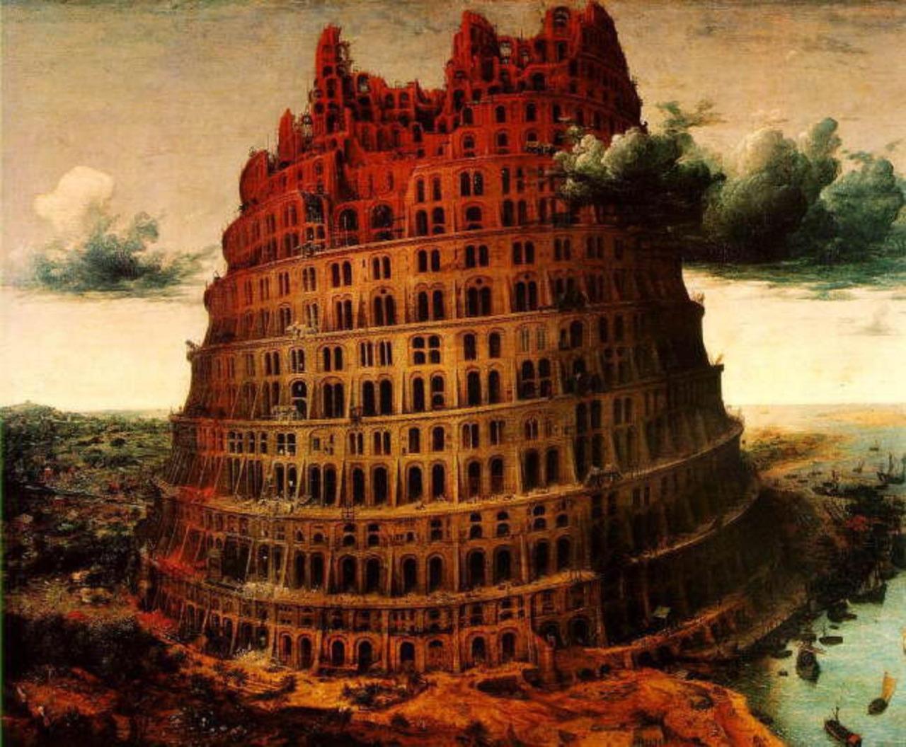 Babele tower Jan Brueghel the Elder