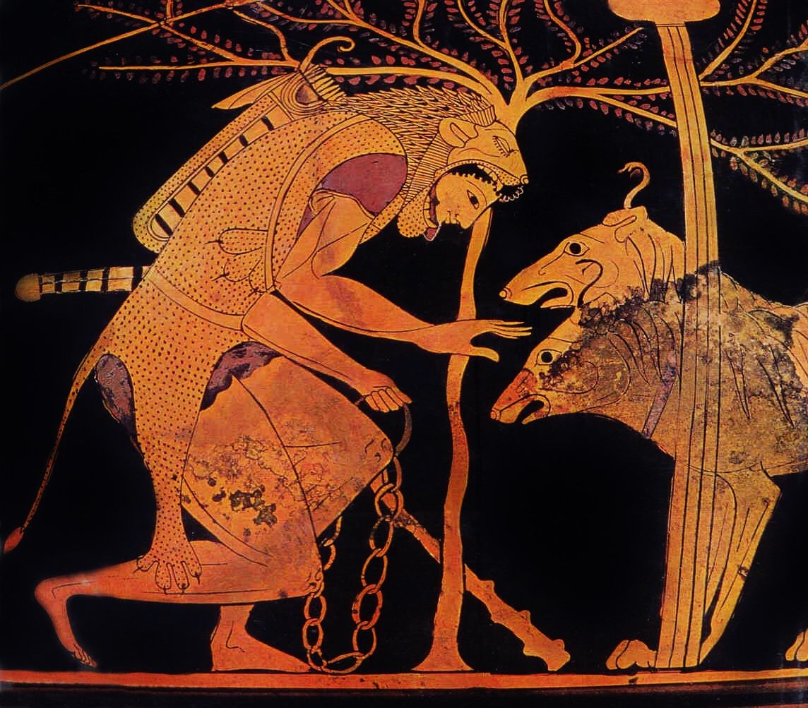 Labours of Heracles, the Capture of Cerberus