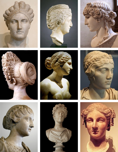 Stupendous Hairstyles Of Ancient Rome Hairstyle Fashion In Rome Was Ever Short Hairstyles Gunalazisus