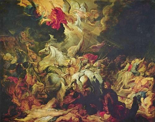The Defeat of Sennacherib, Peter Paul Rubens, 1612 CE