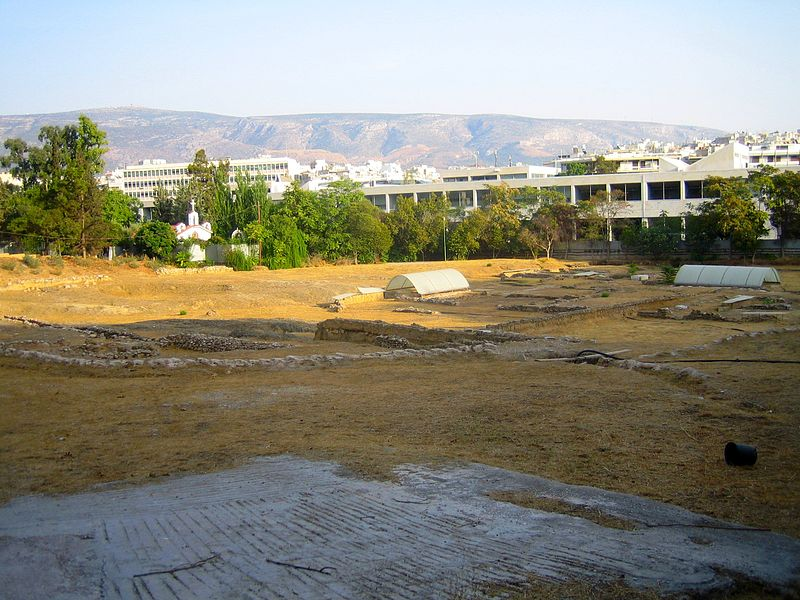 Athens Lyceum Archaeological Site