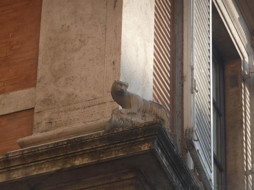 Cat Statue Rome