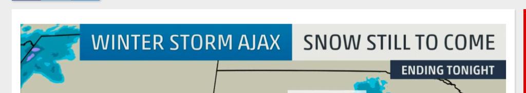 Winter Storm Ajax