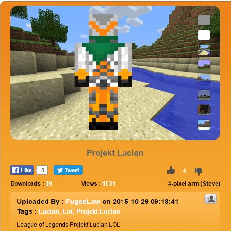 Projekt Lucian Minecraft Figure - ::Irony::