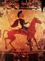 Scythian visits Athens prior to Anacharsis; prelude to Toxaris